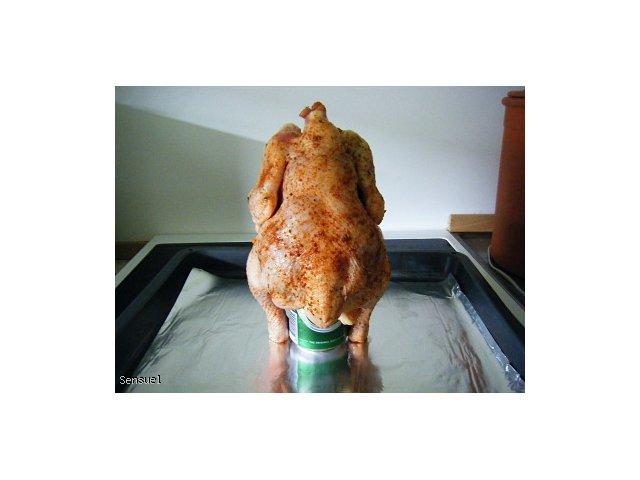 Pijany Kurczak czyli pieczony na puszce piwa
