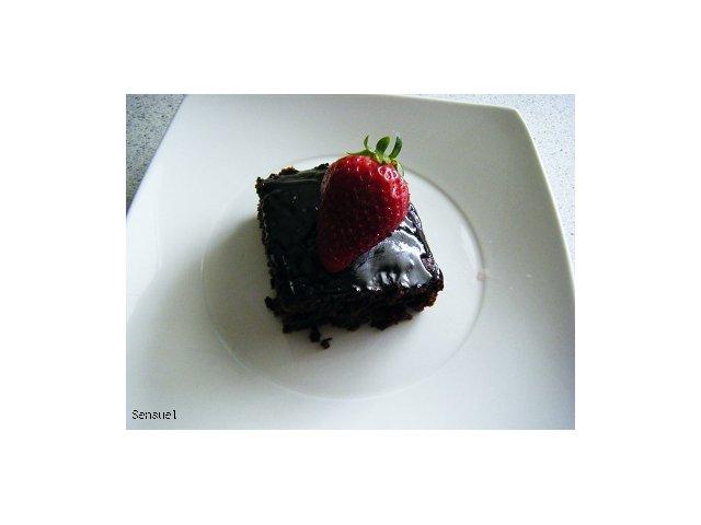 Czekoladowe ciasto Islandzkie