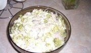 Sałatka z brokułowo-pieczarkowa