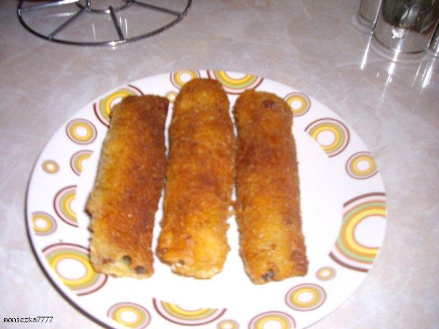 Naleśniczki z pieczarkami i serem