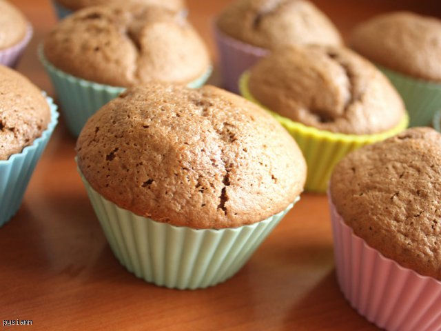 Puszyste czekoladowe Muffiny