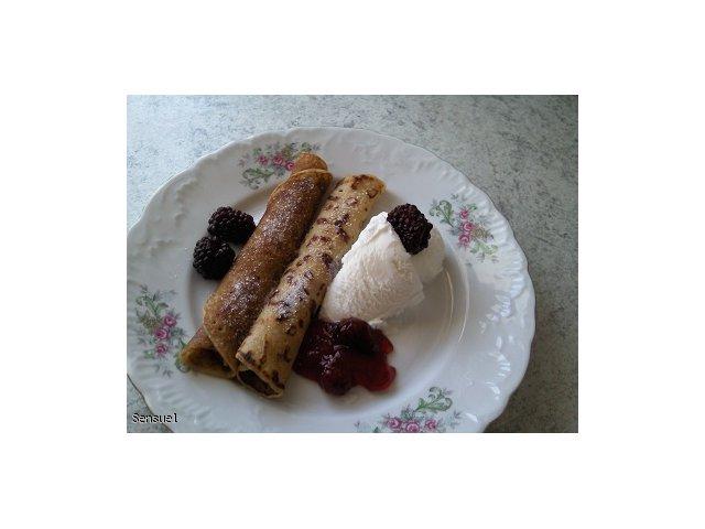 Naleśnikowy deser (pomysł na deser)