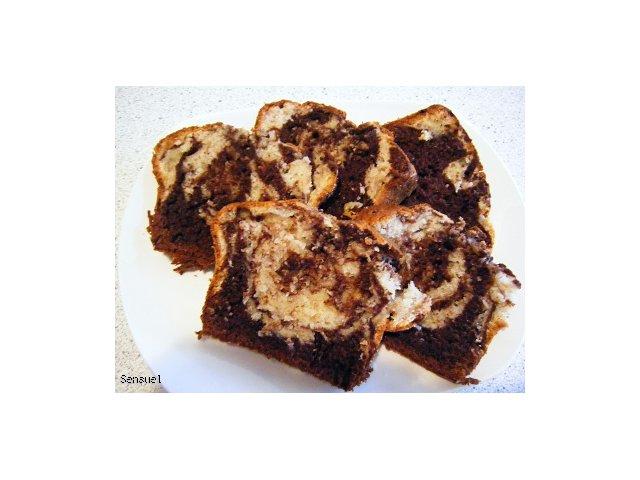 Ciasto bananowo-kakaowe