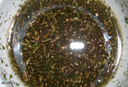 Surówka MIX SAŁAT z olejem z orzechów włoskich