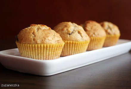 Muffinki owsiane z miodem