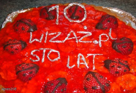 10-cio biedronkowiec na 10 urodziny wizażu
