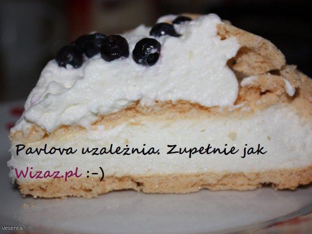 Urodzinowa Pavlova dla wizaz.pl