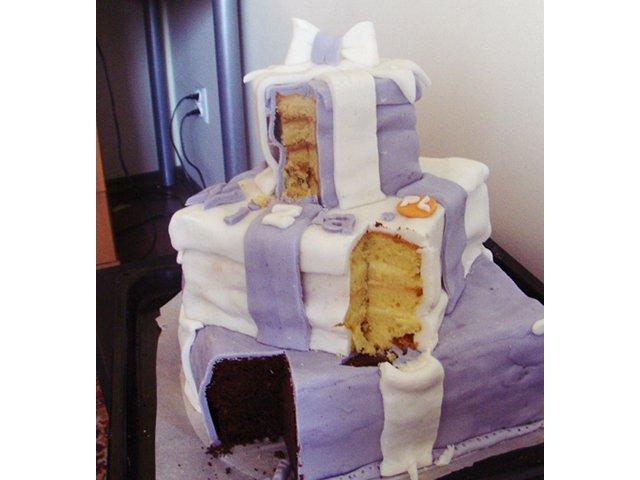 Wizażowy Tort Urodzinowy