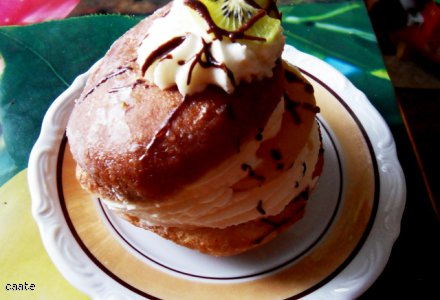 Żaba pyszny deser