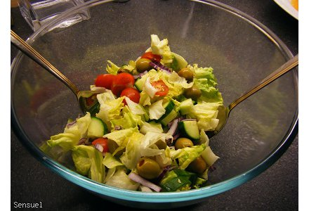 Surówka / Sałatka chrupiąca idealna do obiadu