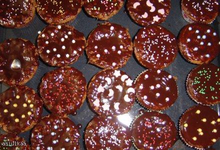 Ciasto czekoladowo- migdałowe