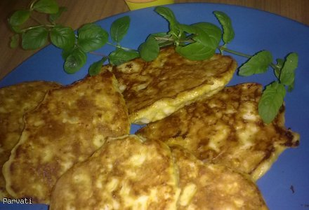 Placuszko-kotleciki jajeczne, dieta dr Dukana.