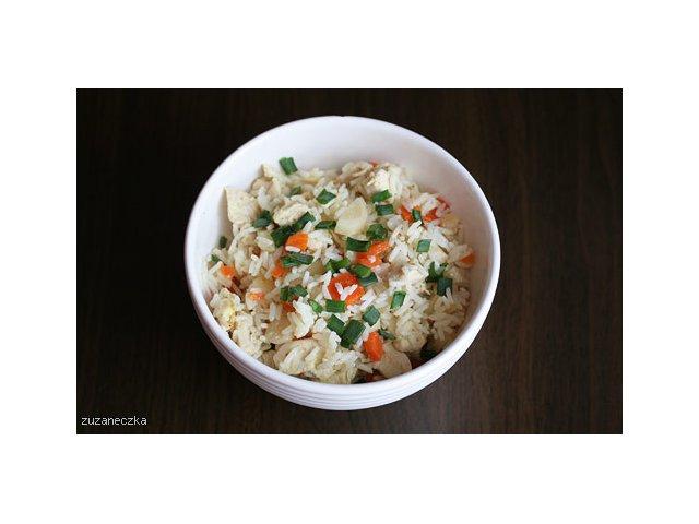 Ryż z warzywami i kurczakiem  czyli moje Ryżotto ;)