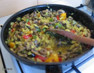 Ryż z warzywami ( Niby - Risotto )