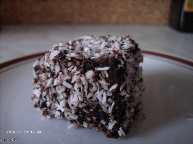 Lamingtony - czyli australijska kostka kokosowa