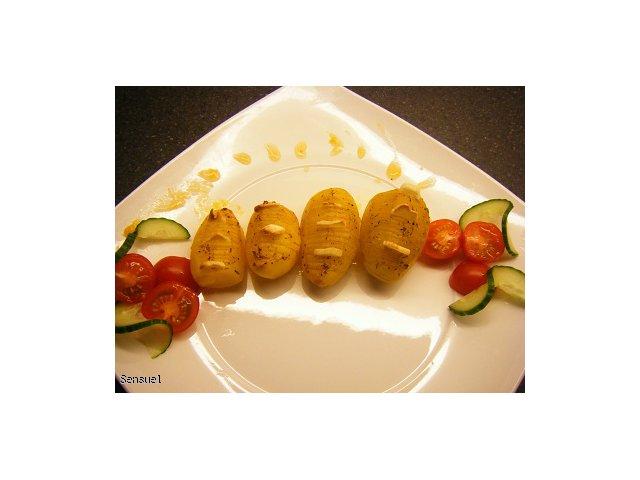 Ziemniaki zapiekane z czosnkiem