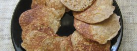 Placuszki owsiane z jabłkami i cynamomen- dietetyczne śniadanie