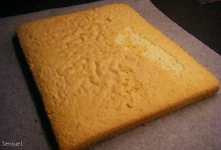 Biała Dama - ciasto kokosowe