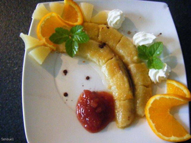 Smażone banany - pomysł na deser
