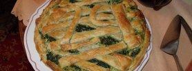 Tarta ze szpinakiem i serem gorgonzola