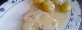 karkowka w sosie musztardowym