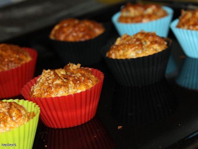 Zdrowe muffinki otrębowe