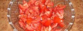 Pomidory w śmietanie