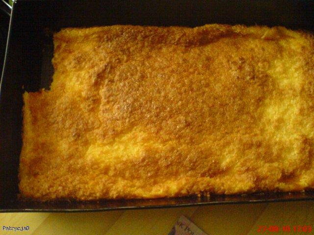 Ciasto kokosowo-budyniowe
