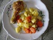 kurczak z warzywami na obiad
