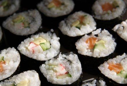 Sushi - futomaki w mojej wersji