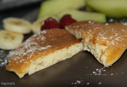 Placuszki z ricotty - ricotta hotcakes*