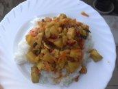 Kurczak z warzywami - chińszyzna
