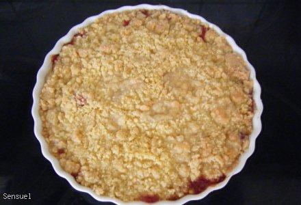 Tarta rabarbarowa - duńska wersja Rabarbar Tærta