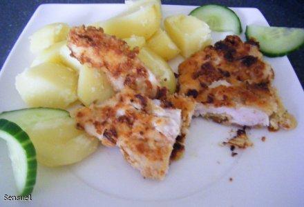 Pierś z kurczaka na cebulową nutę