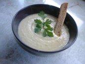 Zupa krem warzywna z chrzanem