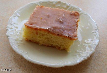 Ciasto cytrynowe bardzo łatwe