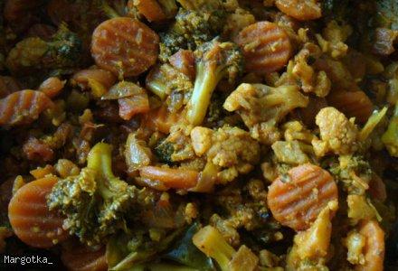Warzywa po Indyjsku