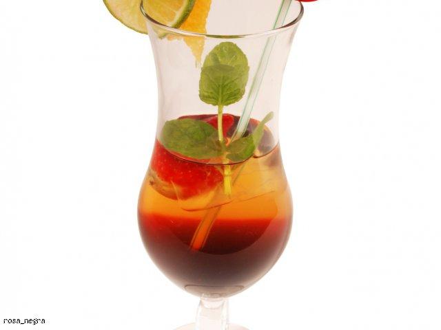 Ice tea malinowo-miętowa