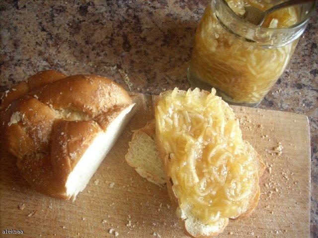 Konfitura jabłkowo - pomarańczowa