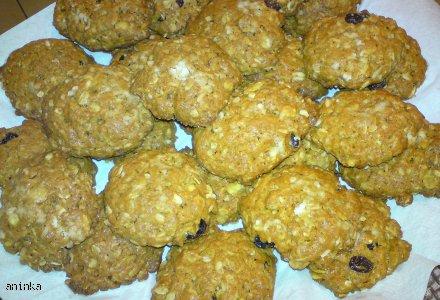 Ciasteczka z płatkami owsianymi