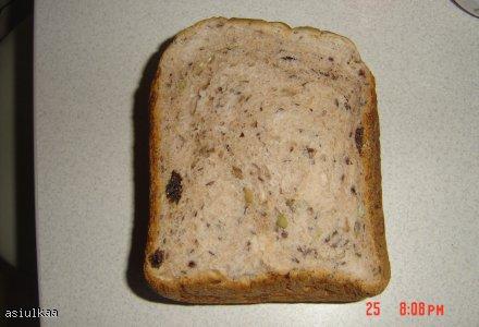 Chleb pszenno razowy z ziarnami
