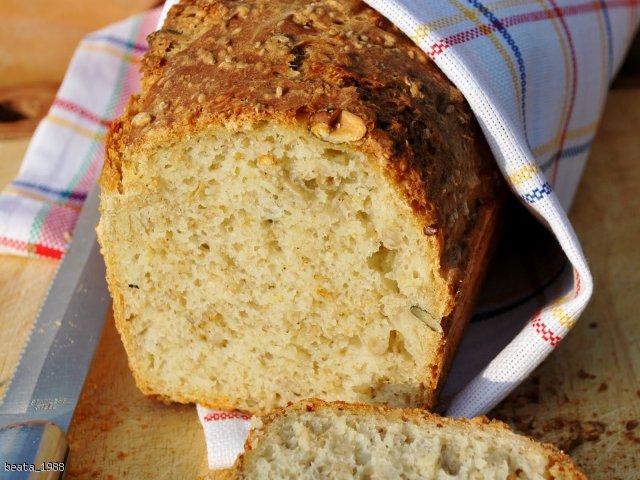 Chleb domowy z soją