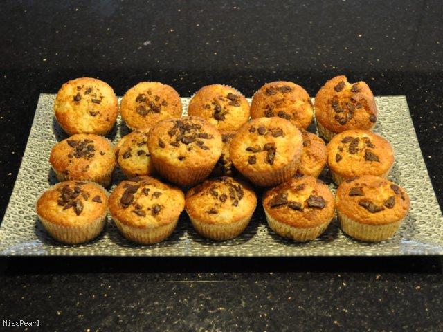 Muffinki ananasowe