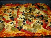Pizza na cienkim cieście