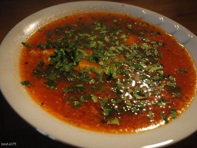 Zupa pomidorowa na skrzydełkach