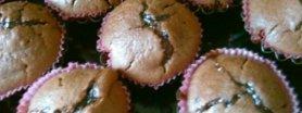 Muffinki czekoladowo-śliwkowe :)