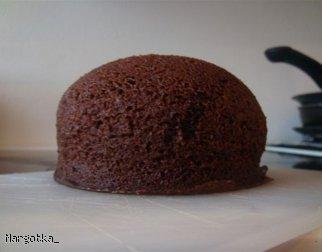 Mikrofalowe ciasto czekoladowe Dukana