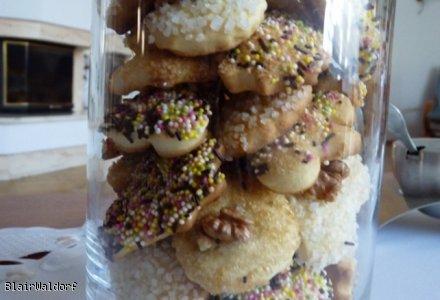 Amoniaczki, kruche ciasteczka