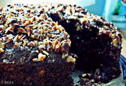 Czekoladowe ciasto owsiane