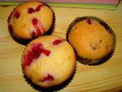 Puszyste muffinki z owocami